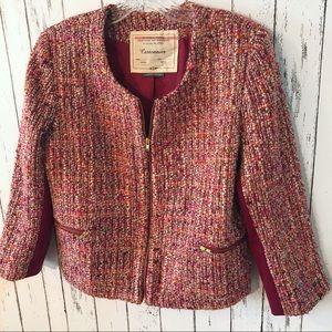 Cartonnier tweed blazer